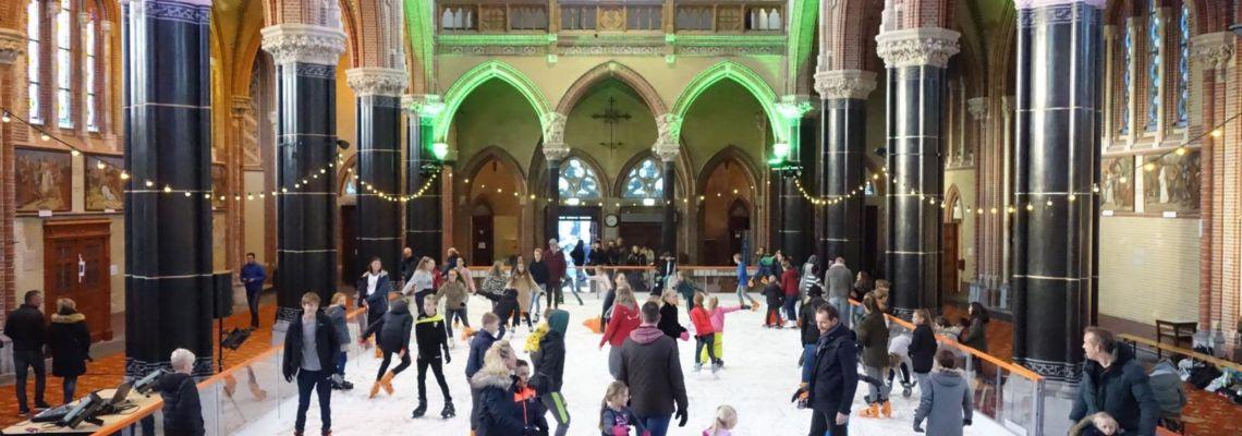 Schaatsen In De Gouwekerk